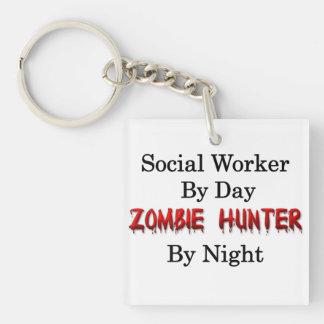 Social Worker/Zombie Hunter Key Ring