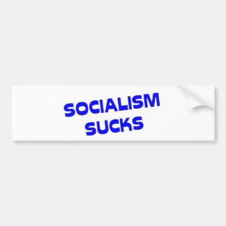 Socialism Sucks! Car Bumper Sticker