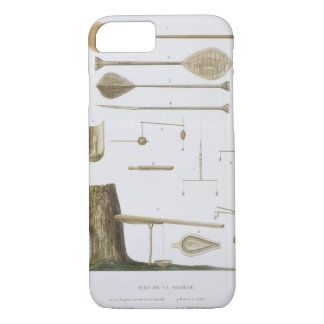 Society Islands: pangas, fishing hooks and other t iPhone 8/7 Case
