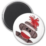 Sock Monkey merchandise products gifts Refrigerator Magnet