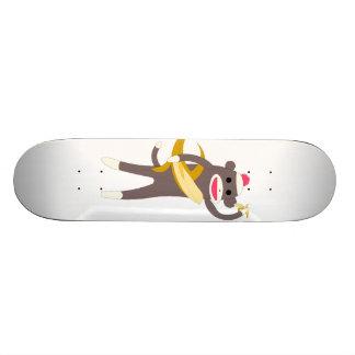 Sock Monkey Skate Board