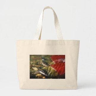 Sockeye Salmon Large Tote Bag