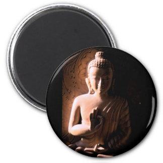 Soft and Sweet Buddha 6 Cm Round Magnet