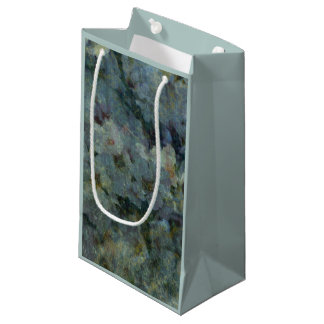 Soft Blue Orchard impressionist Gift Bags