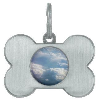 Soft Clouds Pet ID Tags