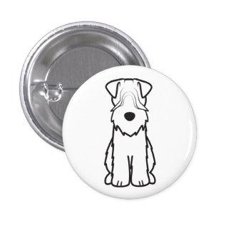 Soft Coated Wheaten Terrier 3 Cm Round Badge