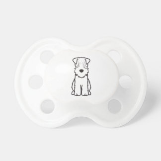 Soft Coated Wheaten Terrier Baby Pacifiers