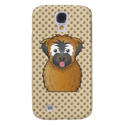 Soft Coated Wheaten Terrier Cartoon Samsung Galaxy S4 Cases