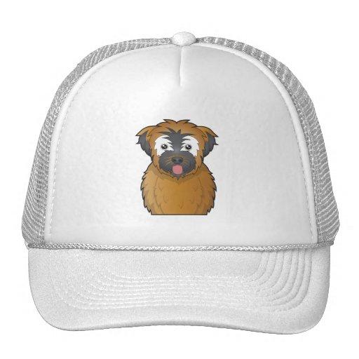 Soft Coated Wheaten Terrier Cartoon Trucker Hats