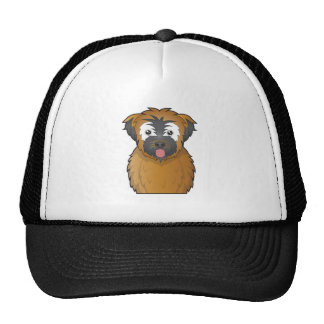 Soft Coated Wheaten Terrier Cartoon Hats
