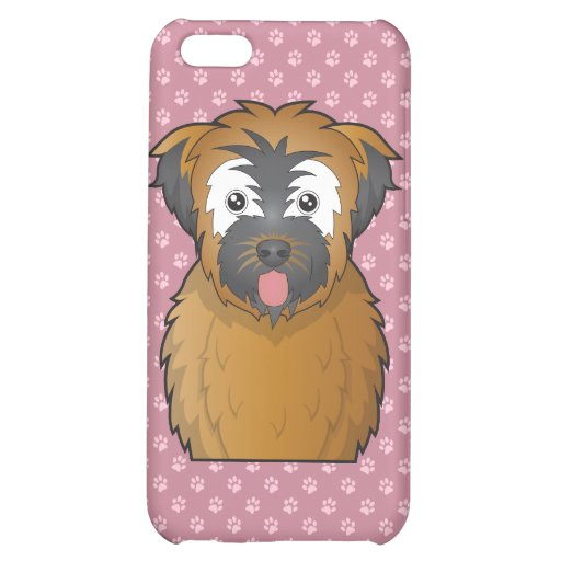 Soft Coated Wheaten Terrier Cartoon Case For iPhone 5C