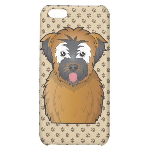 Soft Coated Wheaten Terrier Cartoon iPhone 5C Cover