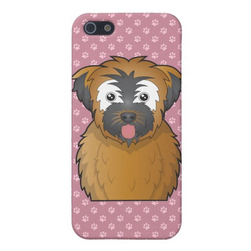 Soft Coated Wheaten Terrier Cartoon Covers For iPhone 5