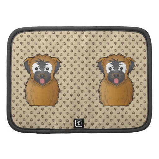 Soft Coated Wheaten Terrier Cartoon Folio Planners