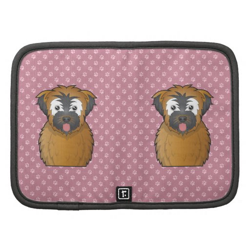 Soft Coated Wheaten Terrier Cartoon Planners