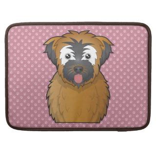 Soft Coated Wheaten Terrier Cartoon Sleeve For MacBook Pro