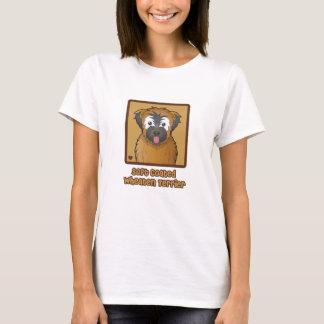Soft Coated Wheaten Terrier Cartoon T-Shirt
