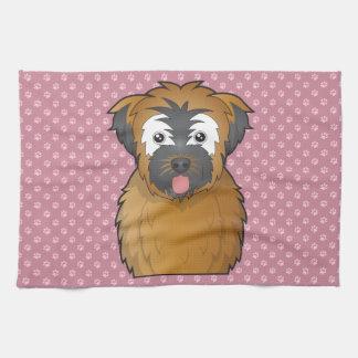 Soft Coated Wheaten Terrier Cartoon Towel