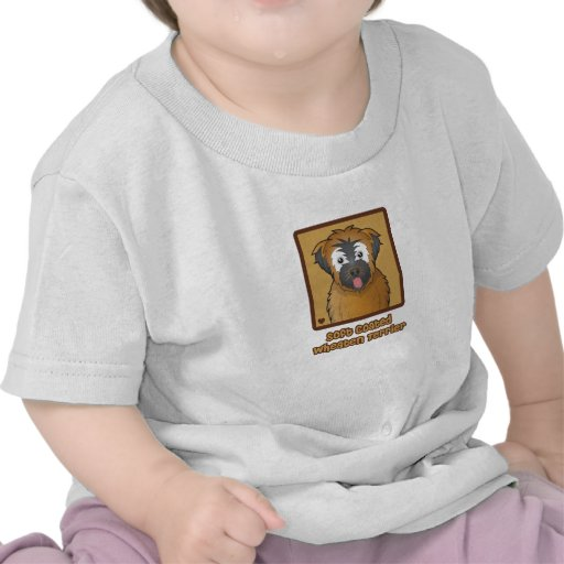 Soft Coated Wheaten Terrier Cartoon T Shirt