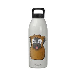 Soft Coated Wheaten Terrier Cartoon Drinking Bottle