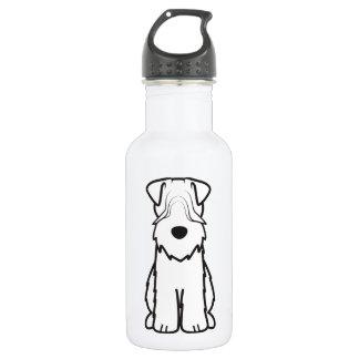 Soft Coated Wheaten Terrier Dog Cartoon 532 Ml Water Bottle