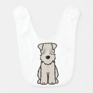 Soft Coated Wheaten Terrier Dog Cartoon Bibs