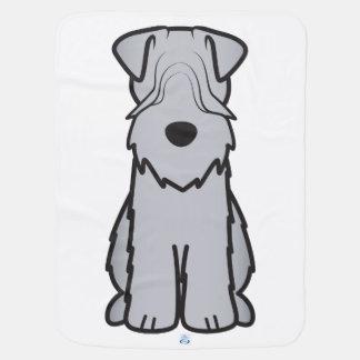 Soft Coated Wheaten Terrier Dog Cartoon Buggy Blankets