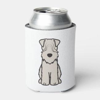 Soft Coated Wheaten Terrier Dog Cartoon Can Cooler