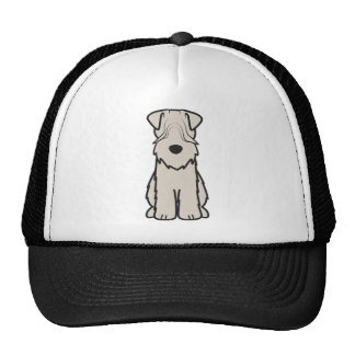 Soft Coated Wheaten Terrier Dog Cartoon Cap