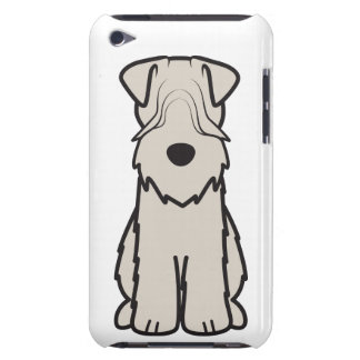 Soft Coated Wheaten Terrier Dog Cartoon iPod Touch Case-Mate Case