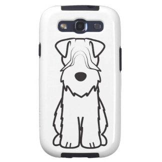 Soft Coated Wheaten Terrier Dog Cartoon Samsung Galaxy SIII Cases