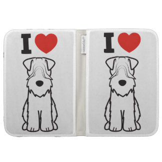 Soft Coated Wheaten Terrier Dog Cartoon Kindle Covers