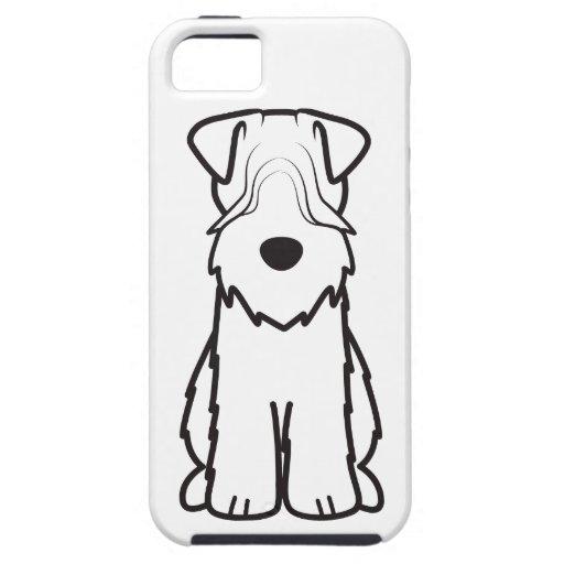 Soft Coated Wheaten Terrier Dog Cartoon iPhone 5 Case