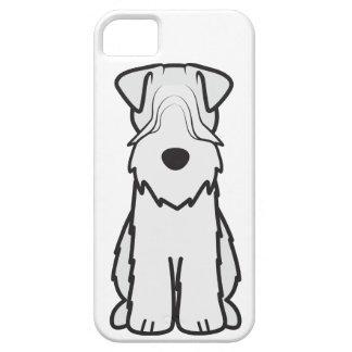 Soft Coated Wheaten Terrier Dog Cartoon iPhone 5 Cases