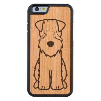 Soft Coated Wheaten Terrier Dog Cartoon Cherry iPhone 6 Bumper