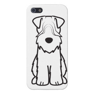 Soft Coated Wheaten Terrier Dog Cartoon Cover For iPhone 5/5S