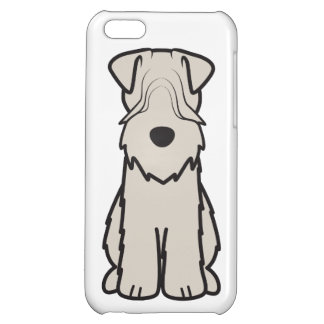 Soft Coated Wheaten Terrier Dog Cartoon Cover For iPhone 5C