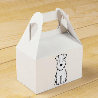 Soft Coated Wheaten Terrier Dog Cartoon Favour Box