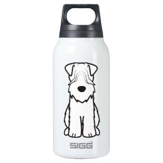 Soft Coated Wheaten Terrier Dog Cartoon Insulated Water Bottle