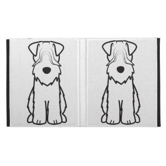 Soft Coated Wheaten Terrier Dog Cartoon iPad Case