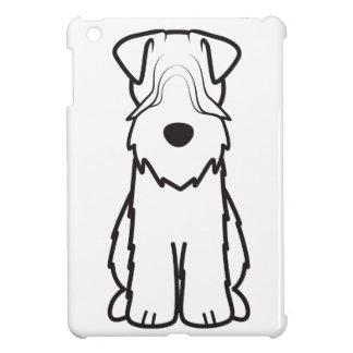 Soft Coated Wheaten Terrier Dog Cartoon iPad Mini Covers