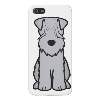 Soft Coated Wheaten Terrier Dog Cartoon iPhone 5/5S Cases