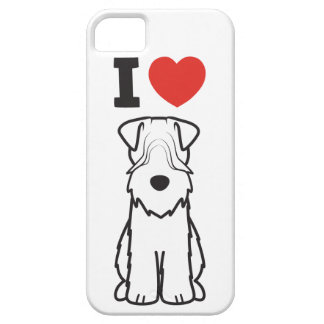 Soft Coated Wheaten Terrier Dog Cartoon iPhone 5 Covers