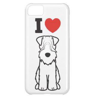 Soft Coated Wheaten Terrier Dog Cartoon iPhone 5C Case