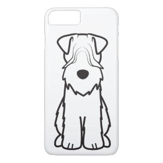 Soft Coated Wheaten Terrier Dog Cartoon iPhone 7 Plus Case