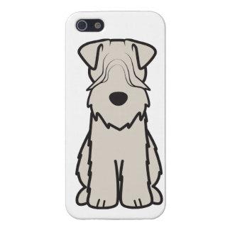Soft Coated Wheaten Terrier Dog Cartoon iPhone 5/5S Covers