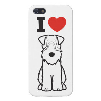 Soft Coated Wheaten Terrier Dog Cartoon Case For The iPhone 5