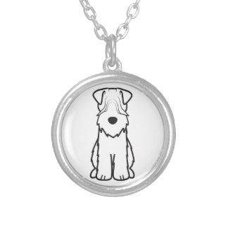 Soft Coated Wheaten Terrier Dog Cartoon Necklace