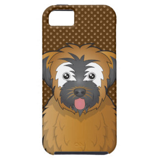 Soft Coated Wheaten Terrier Dog Cartoon Paws iPhone 5 Cover