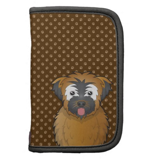 Soft Coated Wheaten Terrier Dog Cartoon Paws Planner